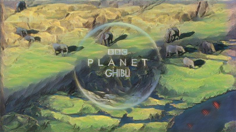 planet earth scene styled with parameter values up to eleven