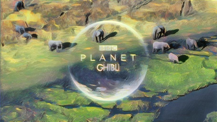 Planet Ghibli - BBC's Planet Earth in the style of Studio Ghibli's Nausicaa Valley of the Wind
